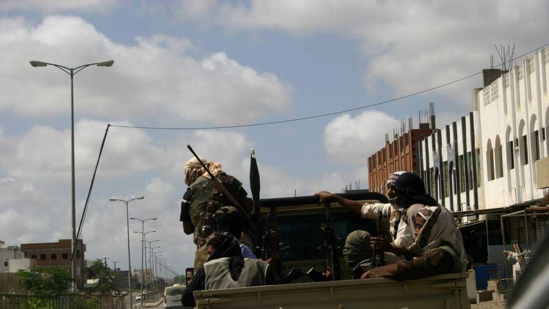 Yemeni militants, suspected of being members of  Al-Qaeda