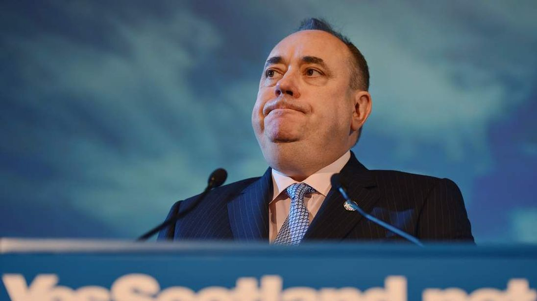 Alex Salmond, leader of the Scottish National Party.