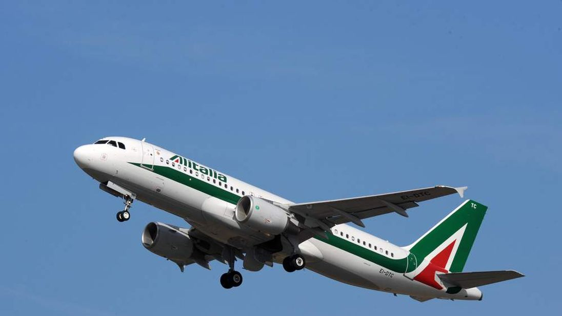 A new Airbus A320 of Alitalia