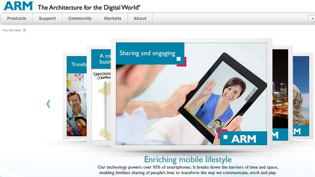 ARM Ltd website