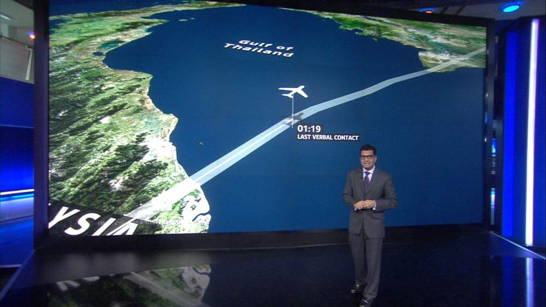 Ashish Joshi looks at what's known so far about the route of MH370