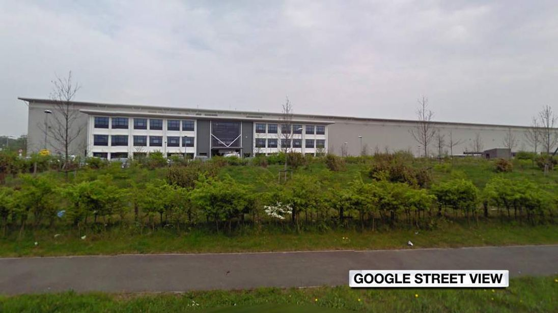 The ASOS warehouse in Barnsley