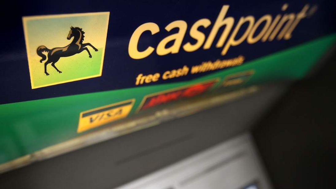 A Lloyds TSB Cash Machine