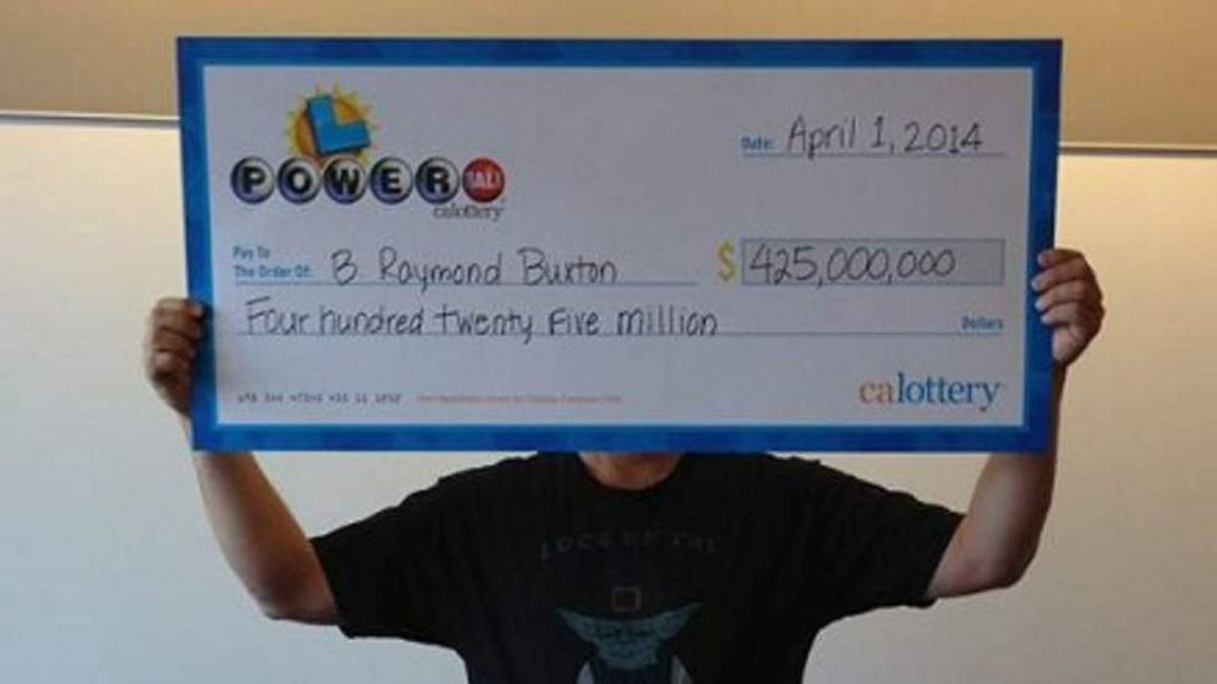 California Lottery winner nets $425m