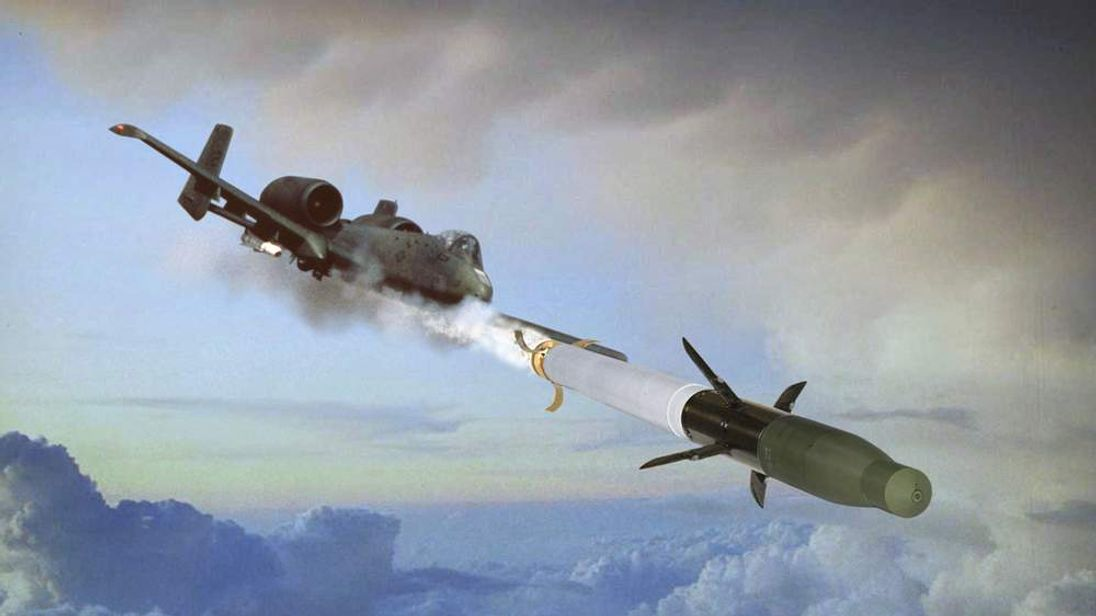 BAE Systems' APKWS missile (artist's impression)