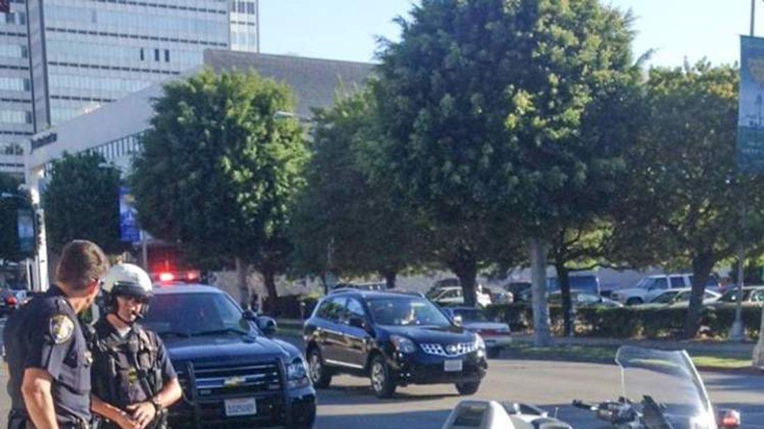 Charles Belkman's arrest Pic: Facebook