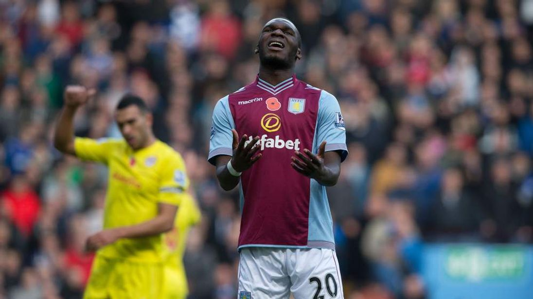 Striker Christian Benteke has been one of Aston Villa's brightest stars in recent times