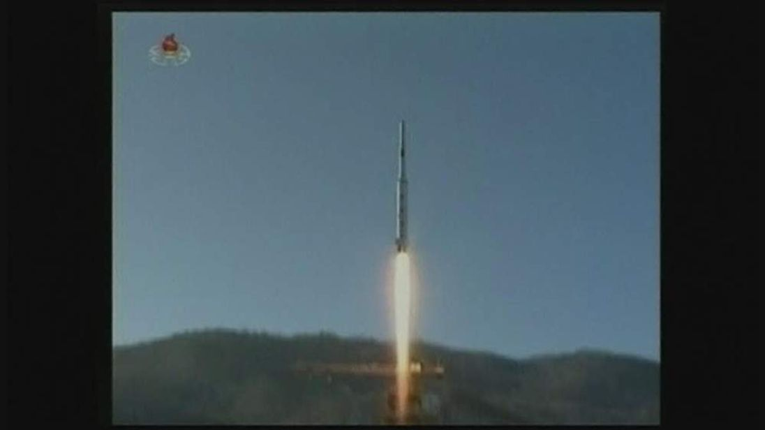 North Korea rocket launch