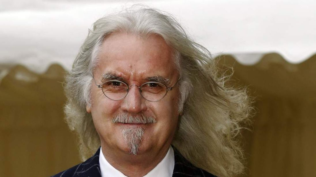 Billy Connolly at a Windsor Castle reception.