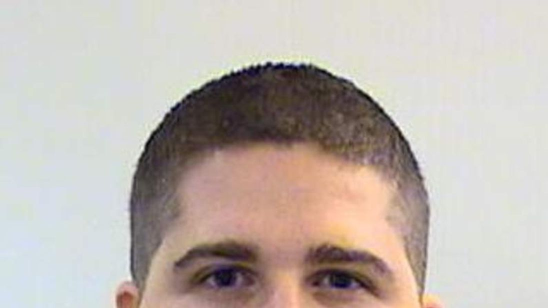 Handout picture of the MIT police Sean Collier officer who was shot and killed.