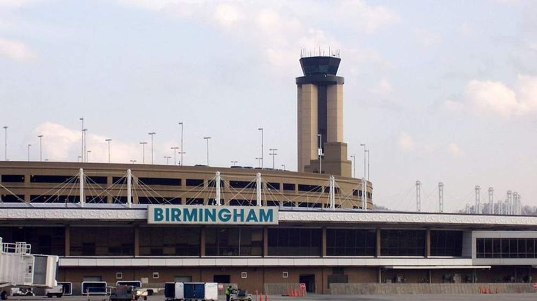 Birmingham International Airport in the US