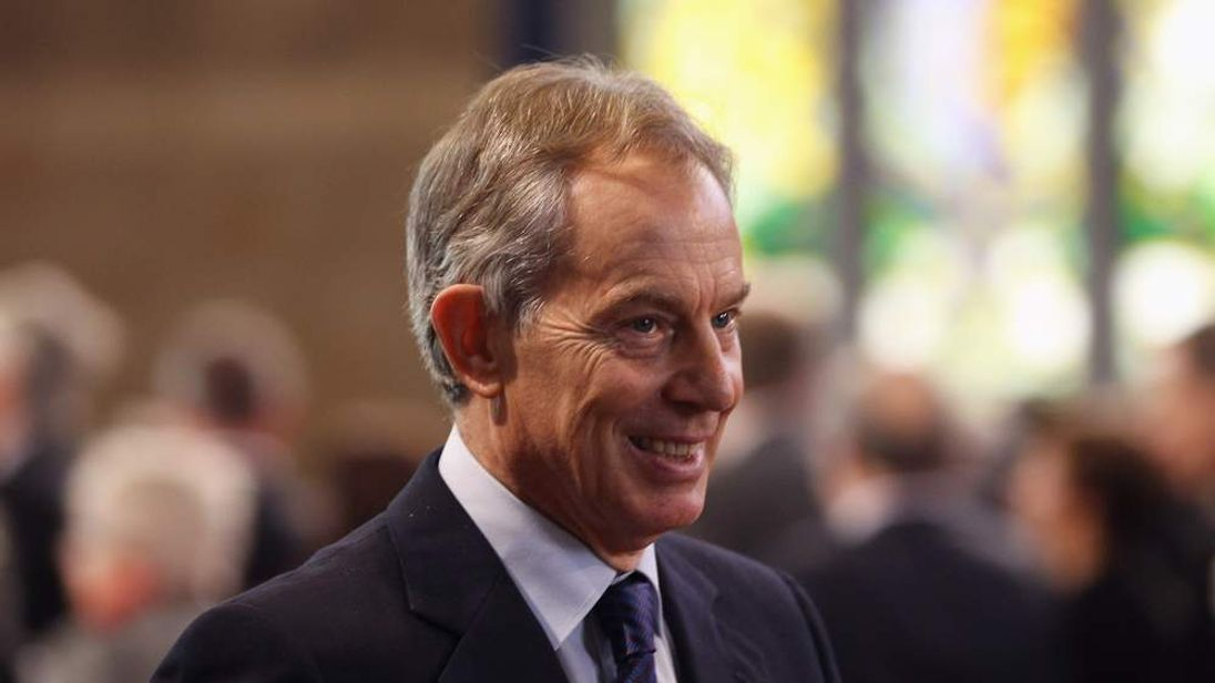 Tony Blair in Westminster Hall