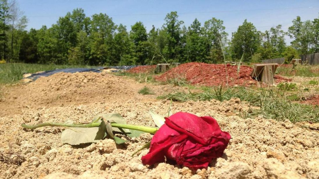 The unmarked grave of Tamerlan Tsarnaev