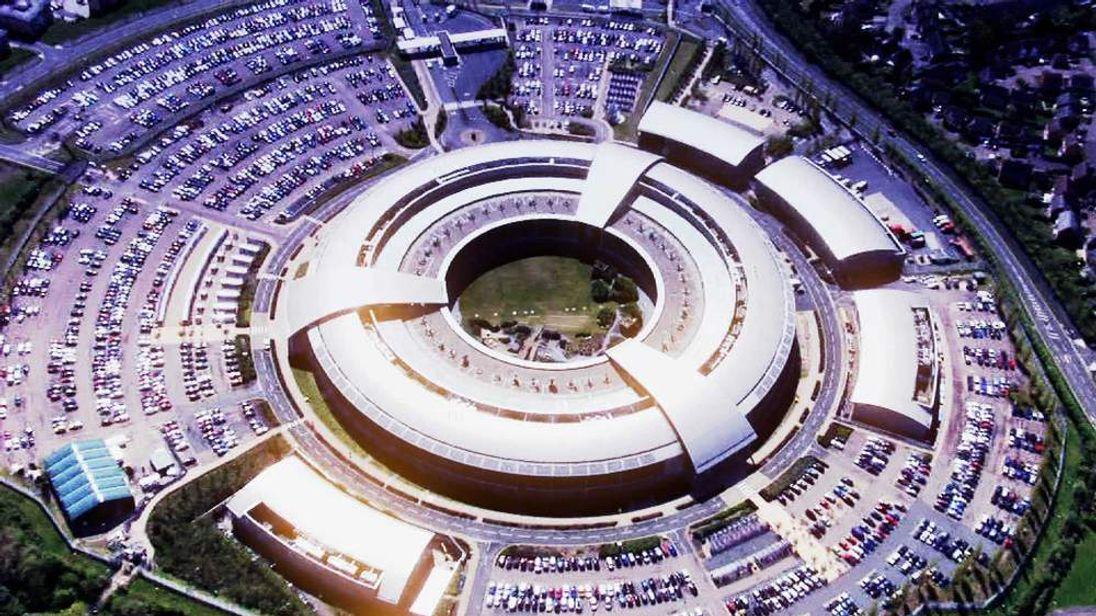 An aerial view of GCHQ