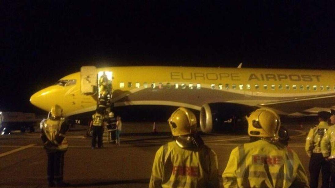 Cork Airport emergency landing