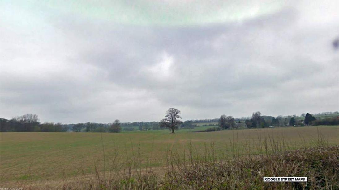 Fields in Brockton, Shropshire