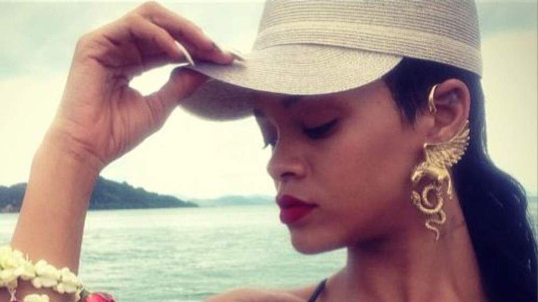 Rihanna in Thailand