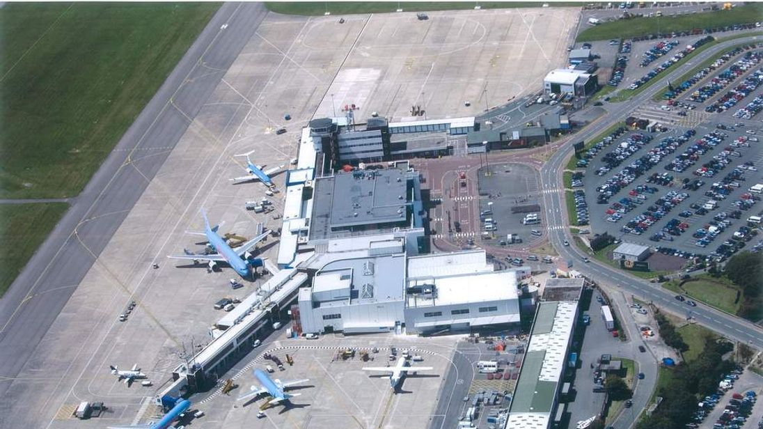 Cardiff Airport aerial
