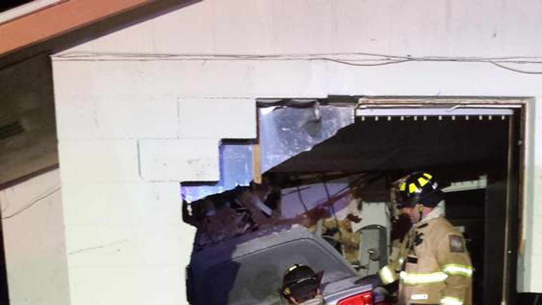 Woman sleeping killed after car crashes into her bedroom. Pic: Sarasota Police