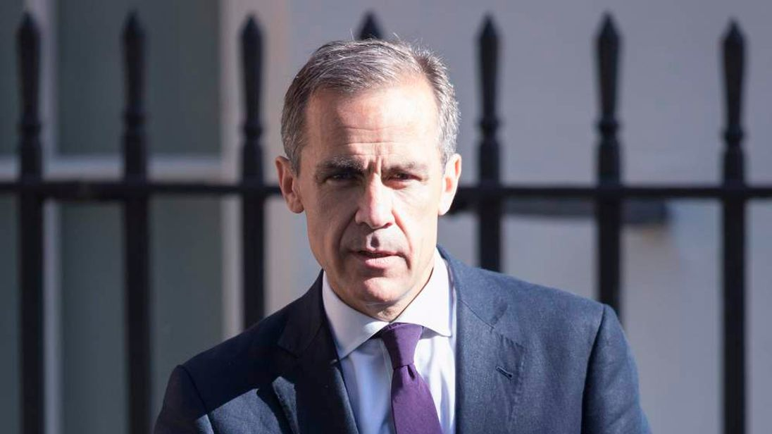 Mark Carney Bank Of England Governor