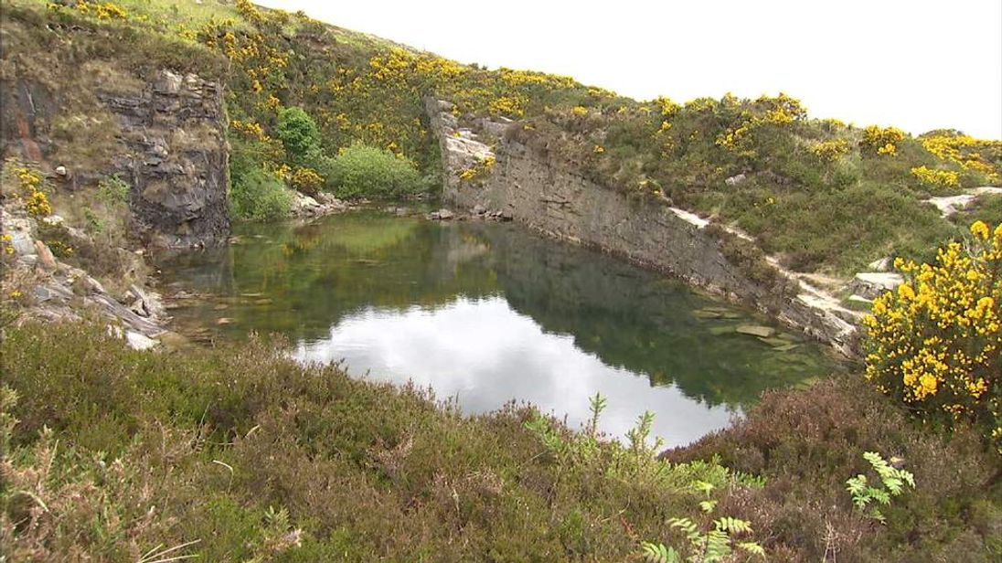 Paul's Quarry near Annalong, Northern Ireland