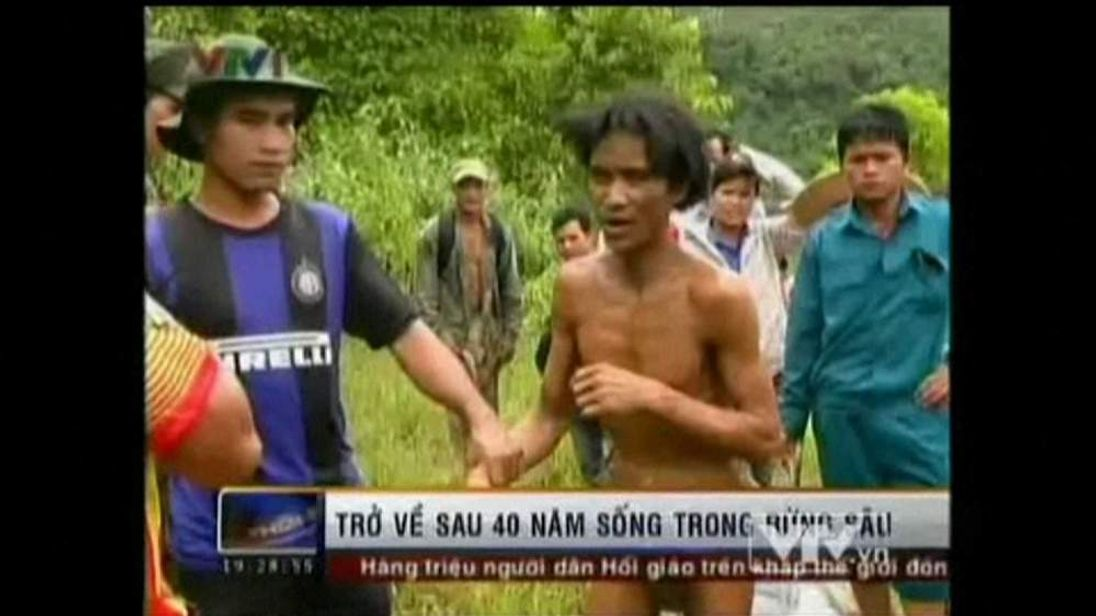 Vietnam man found after 40 years in jungle