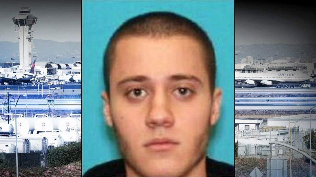 Suspected LA airport gunman Paul Ciancia