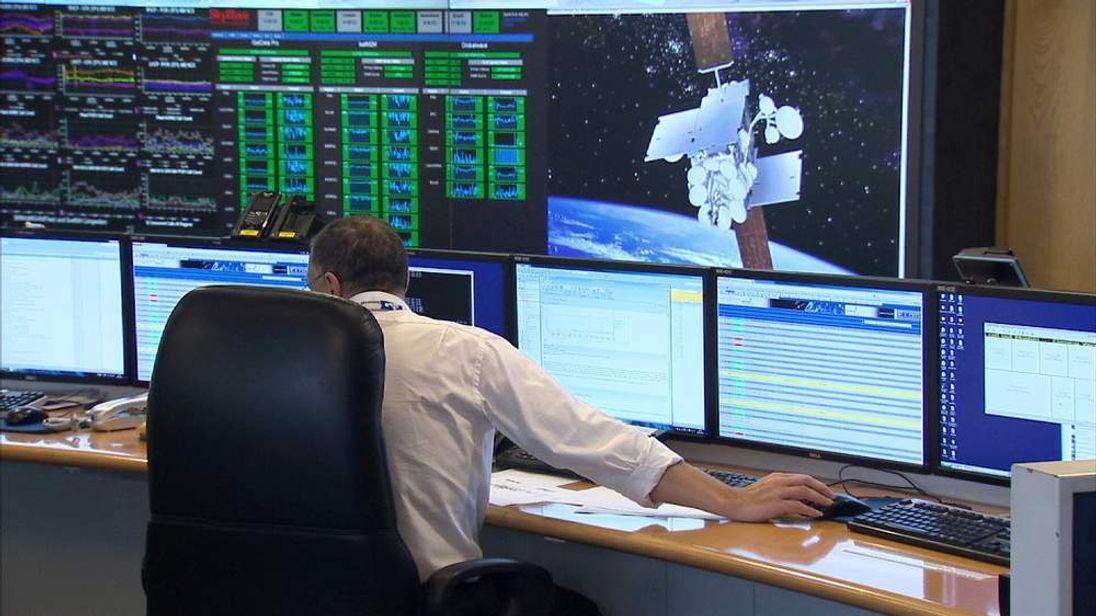 Inmarsat control room