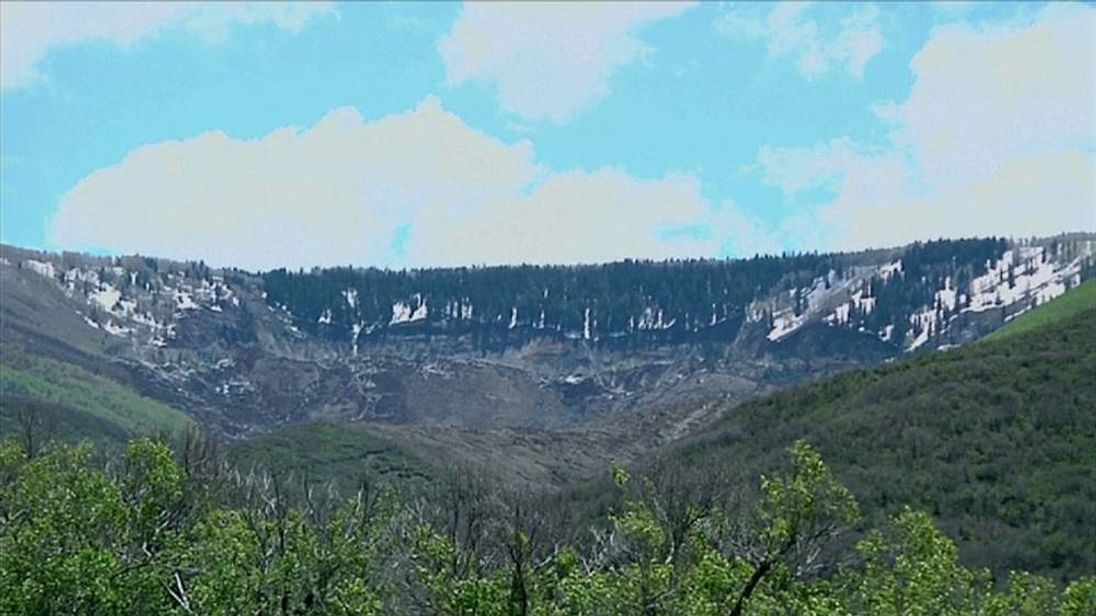 Three men are missing after a mudslide in remote western Colorado.