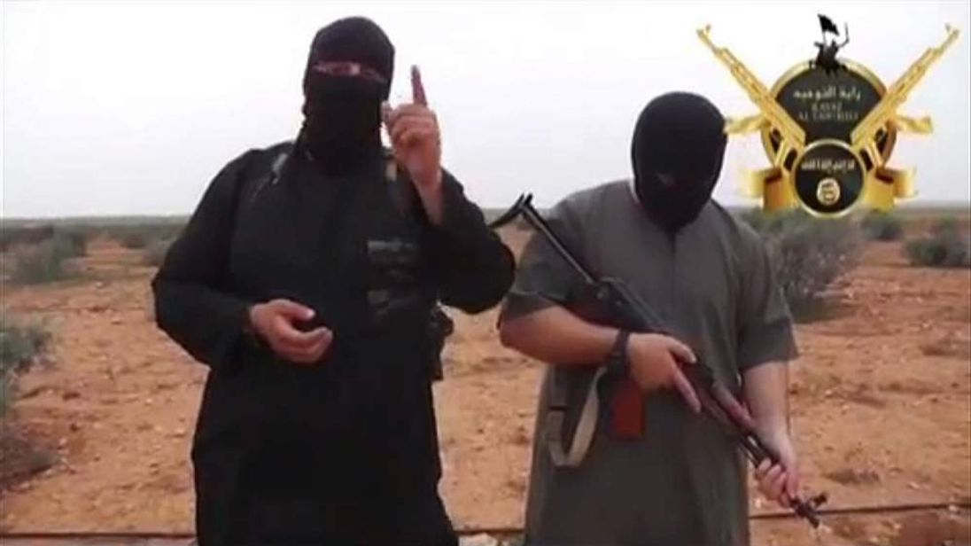 120614 IRAQ ISIS VIDEO STILL BRITISH VOLUNTEERS