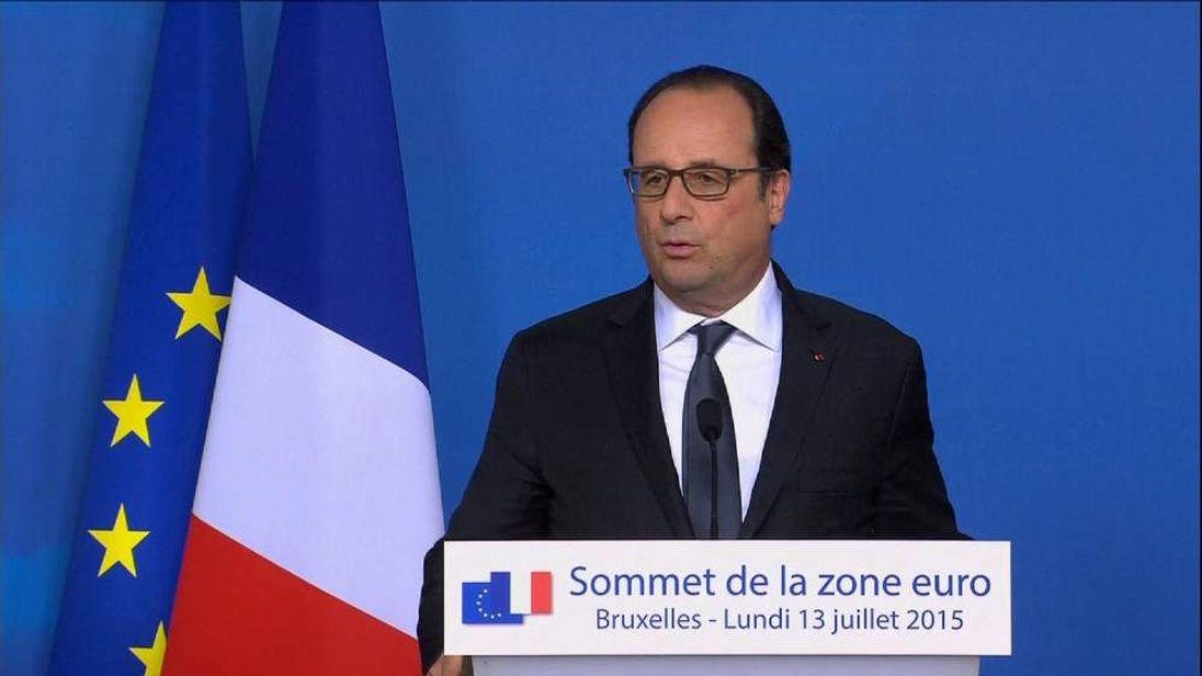 French President Francois Hollande