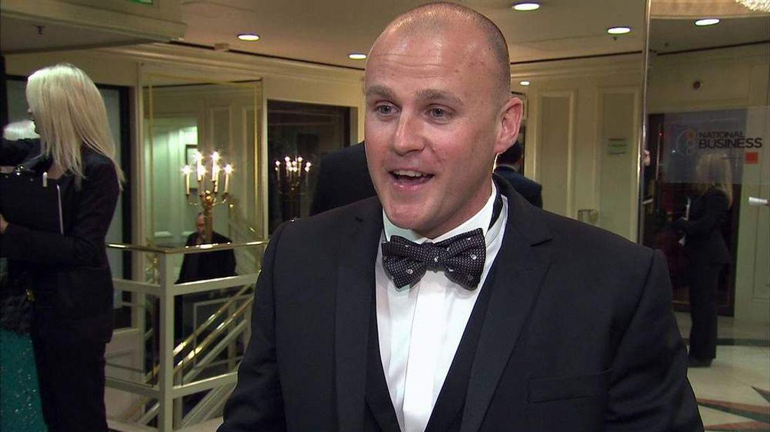 Colin Stevens, Business Award winner, entrepreneur of the year