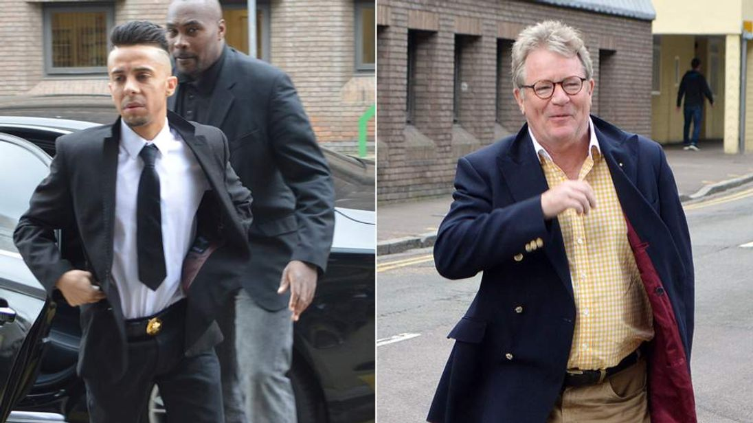 Dappy and Jim Davidson
