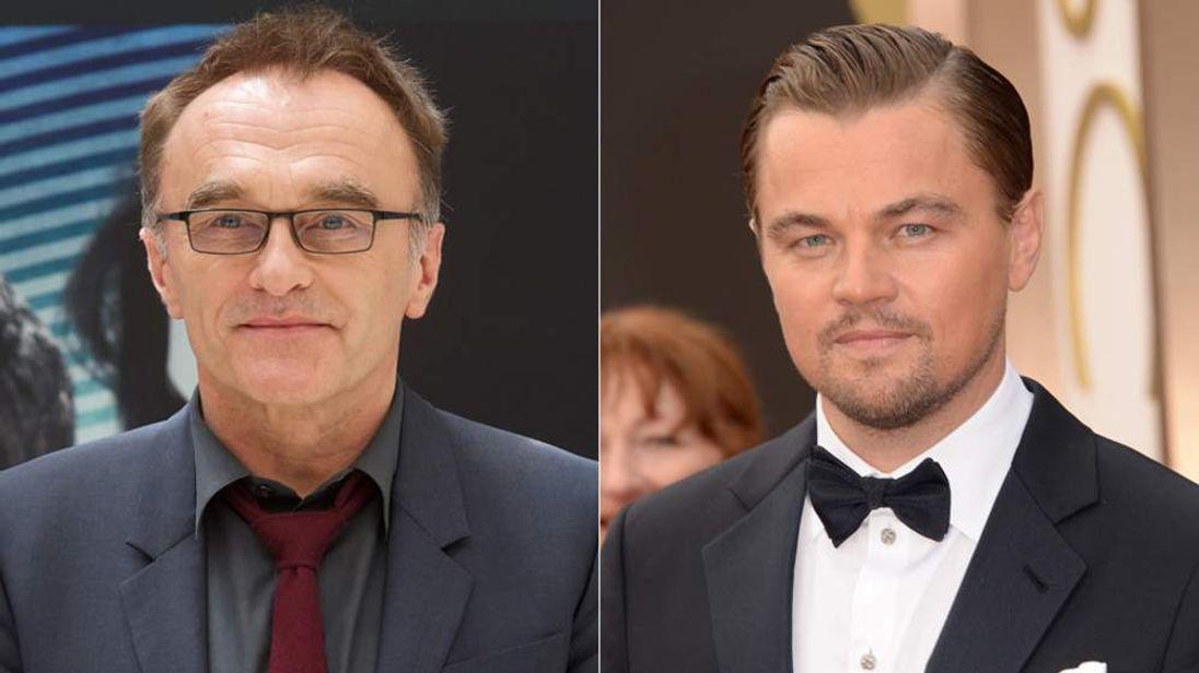 Danny Boyle and Leonardo DiCaprio