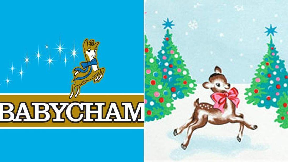 The Babycham and Cath Kidston logos