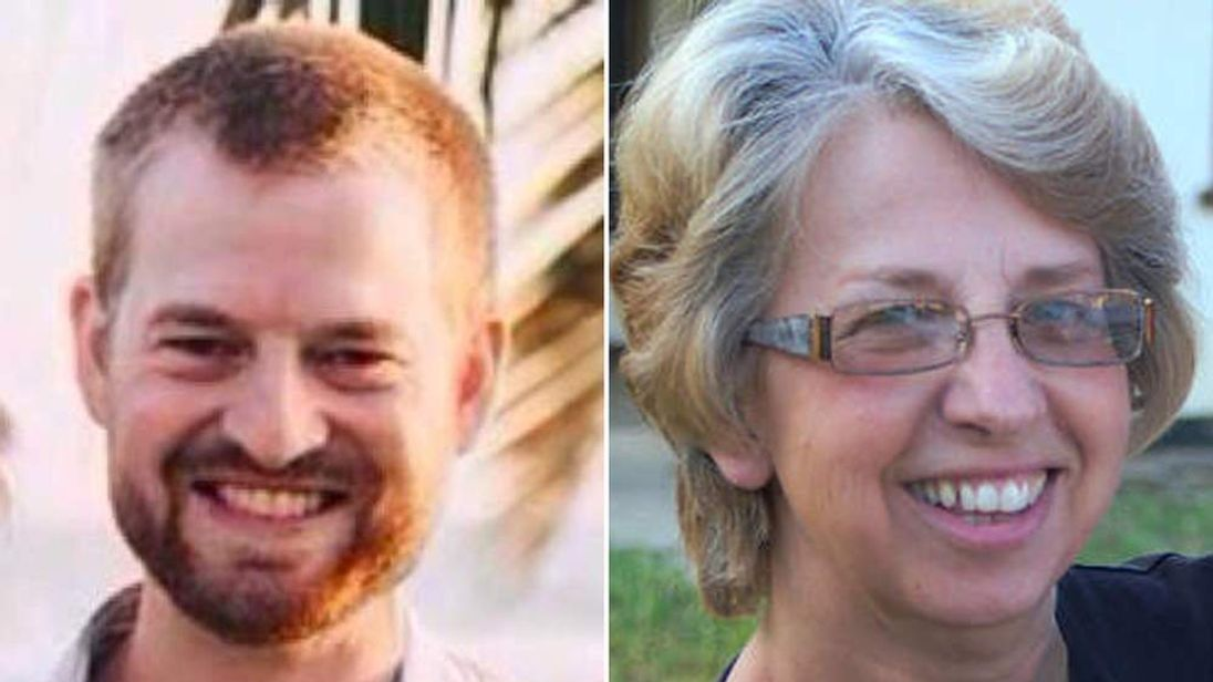 Dr Kent Brantly and missionary Nancy Writebol