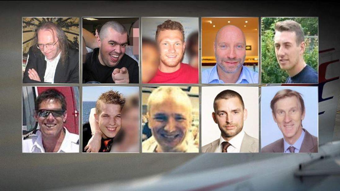 British MH17 victims.