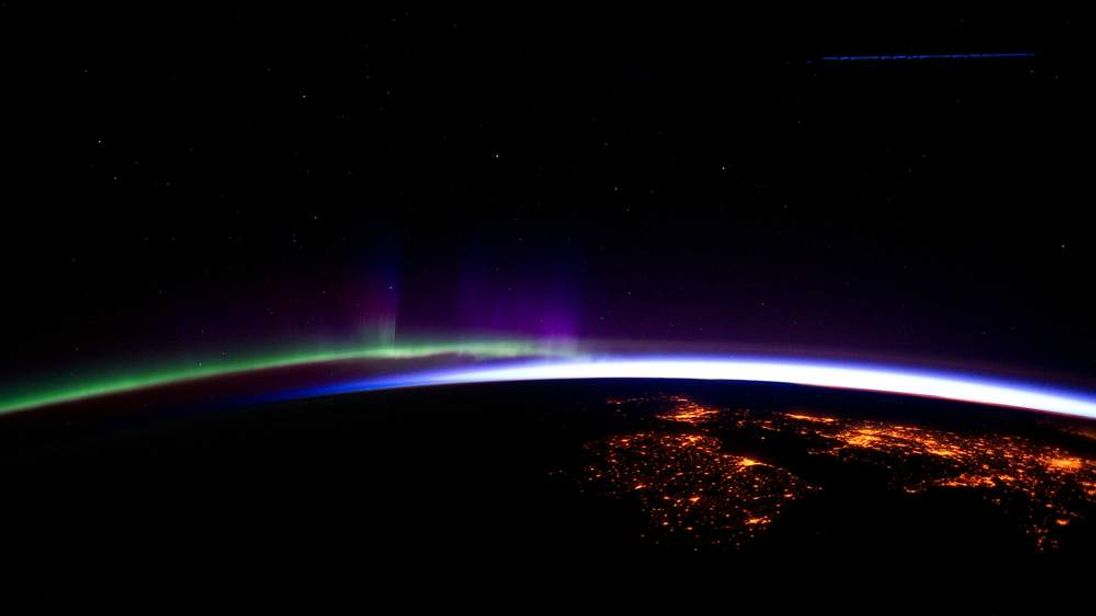 Aurora Borealis over UK