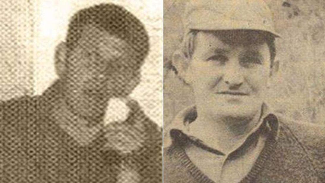 Privates Derek Smallhorne and Thomas Barrett. Picture: Facebook