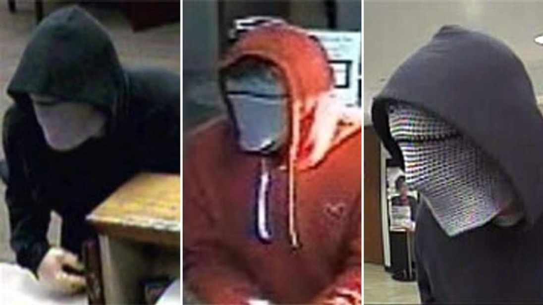 A Seattle bank robber known as the cyborg bandit and elephant man bandit