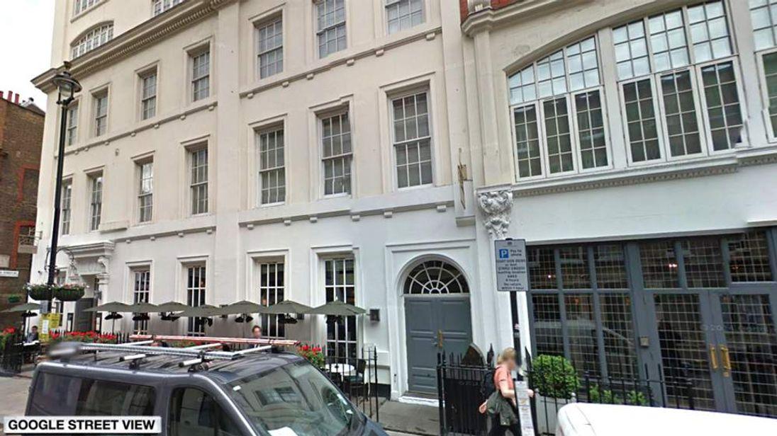 Dean Street Townhouse hotel
