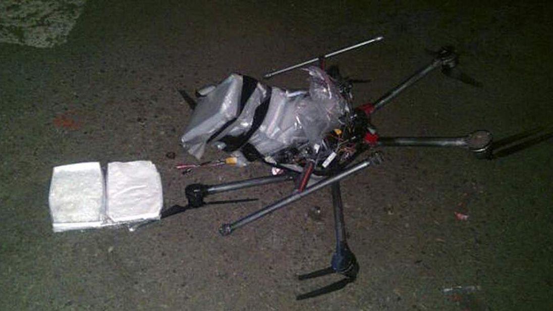 Drone that flew drugs in Tijuana