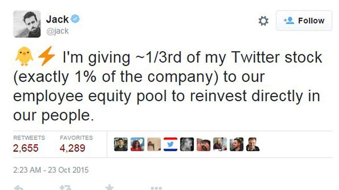 Jack Dorsey Twitter Share Tweet