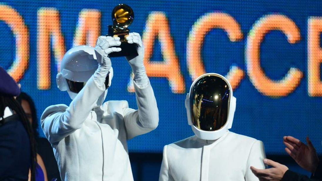 Daft Punk with Grammy
