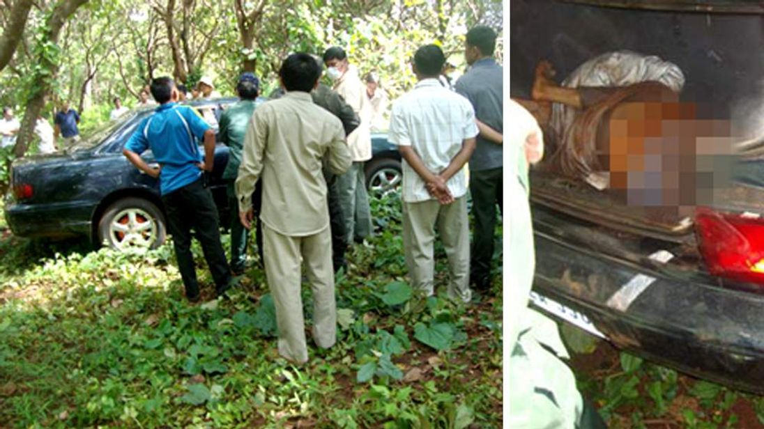 A Cambodian journalist who exposed rampant illegal logging has been found murdered in the boot of his car, police said Wednesday, in a country where environmental activists often face violent retribution.                    Hang Serei Oudom, a reporter at local-language Vorakchun Khmer Daily, was discovered on Tuesday, said senior police officer Song Bunthanorm. The vehicle was abandoned in a cashew nut plantation in northern Ratanakiri province.
