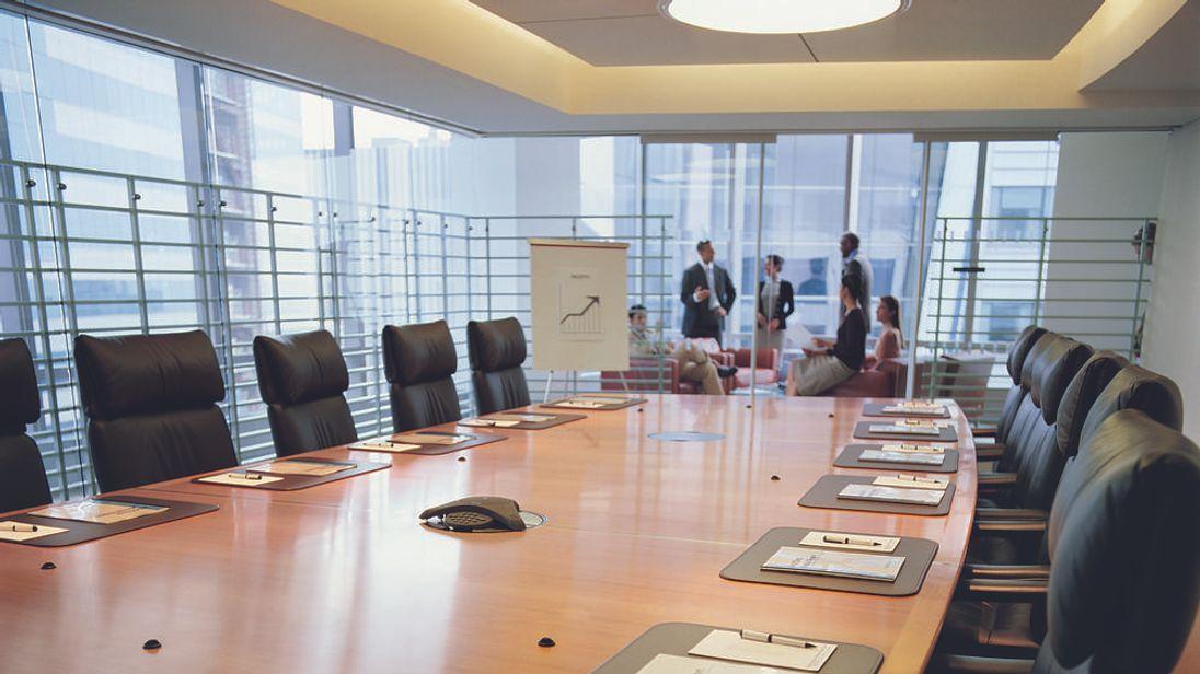 A company boardroom
