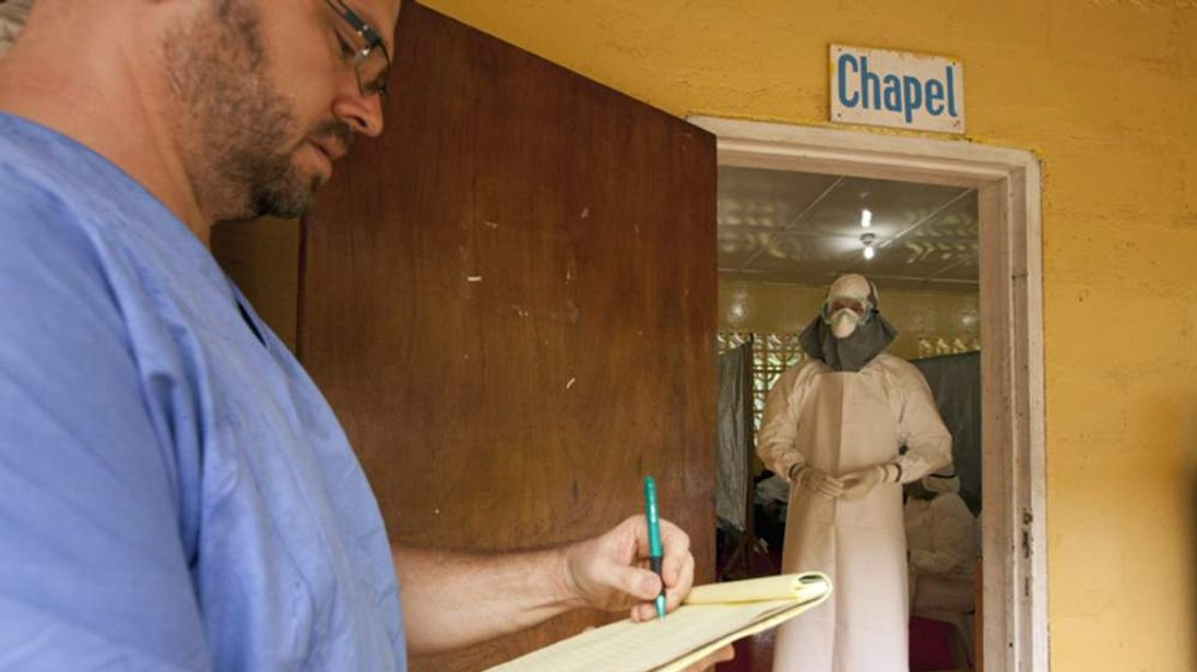 Dr Kent Brantly infected with Ebola