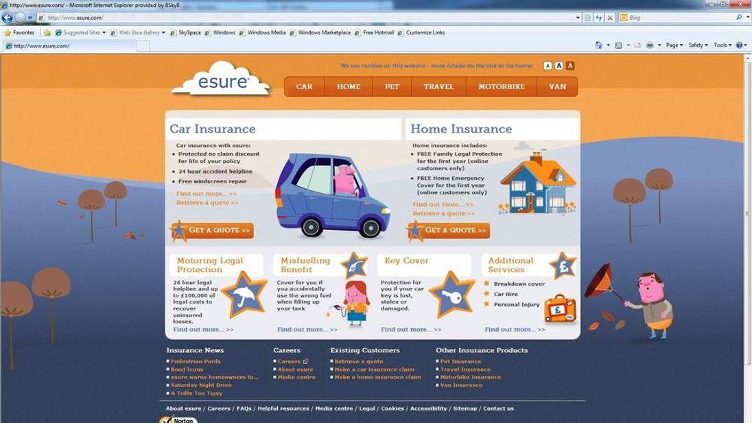 Esure website