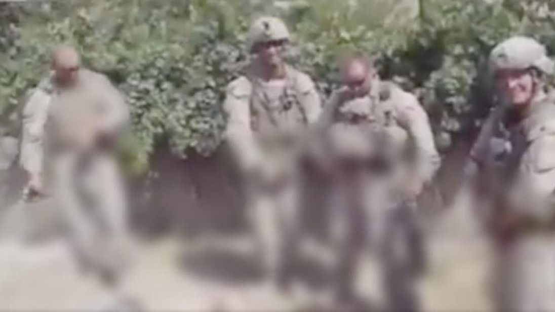 American troops urination picture