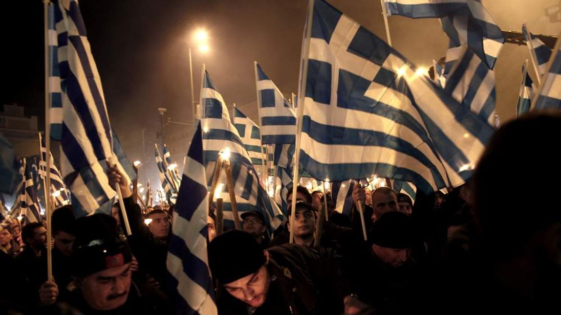 GREECE-TURKEY-POLITICS-PARTIES-GOLDEN-DAWN